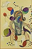 Mikhail Larionov (1881-1964) Russian Futurist, Michel Larionov, $500