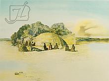 Salvador Dali (1904-1989)Visage Paranoiaque Ltd Ed