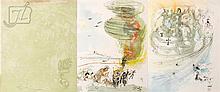 Salvador Dali (1904-1989) 3 Pc. Print Lot