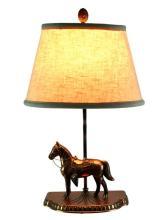 Vintage Western Theme Horse Statue Light