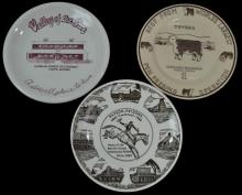 3 Pc. Arizona Vintage Restaurant Plate Lot