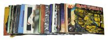 34 Pc. Rock-N-Roll Record Lot w/ AC/DC