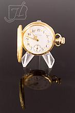 14K Yellow Gold Waltham Pocket Watch