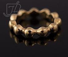 18K Yellow Gold Chanel Eternity Ring