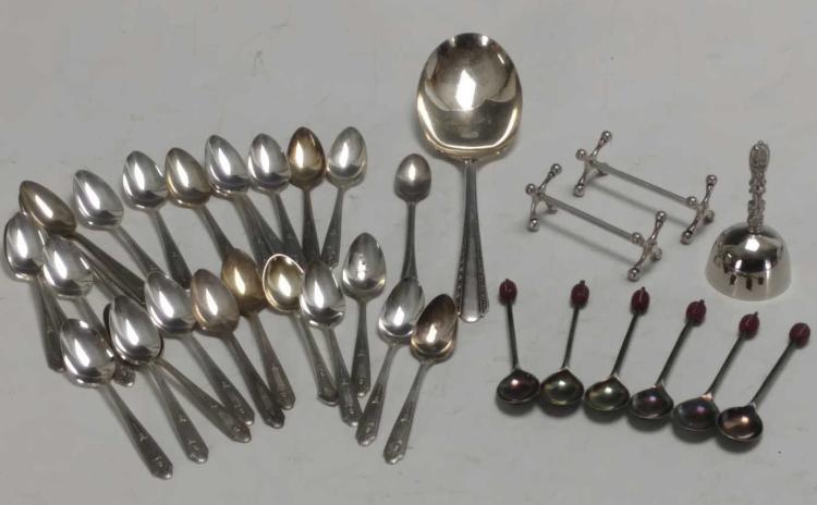 20th C. Oneida Spoon Dinnerware Lot