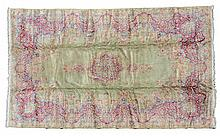 Circa 1940s Green Persian Rug