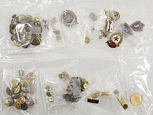 127 Pc. Russian Medal & Button Lot