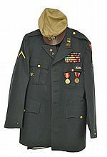 3 Pc. U.S. Military Uniform Jacket, Pants & Hat