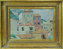 Nellie Augusta Knopf (1875 - 1962) Oil On Canvas