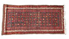 Circa 1950s Persian Hamadan Rug