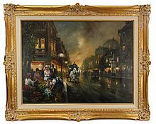 Americo Bartholomew Makk (1951 - ) Oil on Canvas