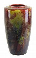 Royal Doulton Flambe Vase Signed Harry Nixon