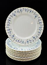 12 Pc. Royal Albert Bone China Plate Lot