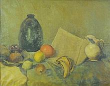 European Style Still Life Oil Painting With Fruit