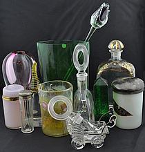 14 Pc. Murano Art Glass Sculpture Lot