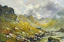 Alfred Fontville de Breanski, Jr. (1877-1957) Oil