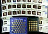 Gold Plated Commemorative Stamps, Bronze Coin Sets