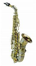 1925 Conn Silver & Gold Plate Soprano Saxophone