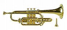 Vincent Bach Stradivarius Cornet #11943 w/Case