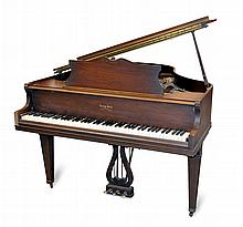 George Steck Baby Grand Piano w/ Bench