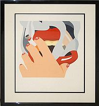 Tom Wesselman (1931-2004) THE SMOKER Ltd. Ed. Serigraph