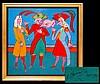 Mihail Chemiakin (ne 1943) Carnival XXIX Painting