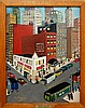Peter Turgeon (1919-1999) Empire Theatre Painting