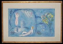 Marc Chagall (1887-1985) The Nymph's Cave Ltd. Ed. Lithograph