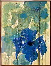 Eyvind Earle (1916-2000) Mixed Media Painting