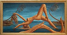 Major H Ray White (20th Century) Virgo Painting