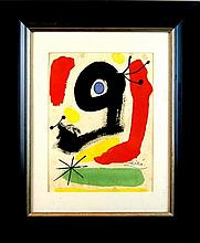 Joan Miro (1893-1983) Untitled, Watercolor