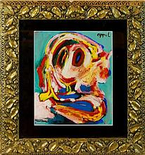 Karel (Christiaan) Appel (1921-2006) Painting