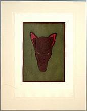 Fritz Scholder (1937-2005) Ltd. Ed. Lithograph #4