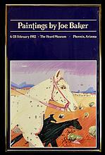 Joe Baker Signed Heard Museum Poster