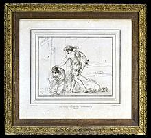 William Hebert 1762 Etching,