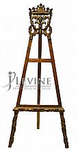 Decorative Easel, Fleur de Lis and Crown Top