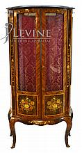 Decorative Cabinet with an Inlay Floral Design