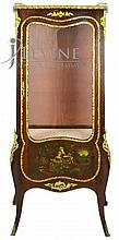 French Style Inlay Cabinet, Decorative Metal