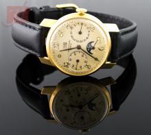 18K Yellow Gold Universal Gentlemen's Wrist Watch