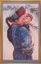 3 Pcs. Ming Wai (né 1938) Ltd. Ed. Asian Print Lot