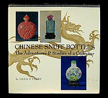 Chinese Snuff Bottle Book by Lilla S. Perry