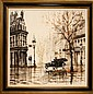 Signed Lawrence Monier (1942 - ) Oil on Canvas #1