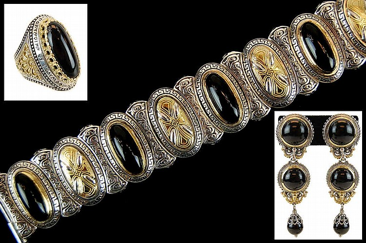A Suite of Konstantino 18kt & Sterling Jewelry
