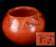 P.J. Native American Maricopa Pottery Bowl #2