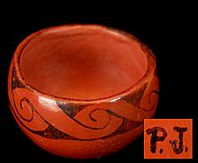 P.J. Native American Maricopa Pottery Bowl #1