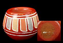 Leresita Native American Navajo Mini Pottery Bowl
