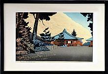 Okuyama Gihachiro (1907-1981) Woodblock, 1949