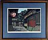 Katsuyuki Nishijima Woodblock Print, Pencil Signed