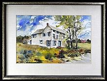 Signed Watercolor, Homestead