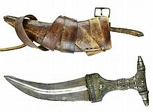 Yemeni Jambiya Dagger & Sheath